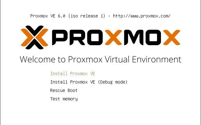 Сайт разработчика proxmox