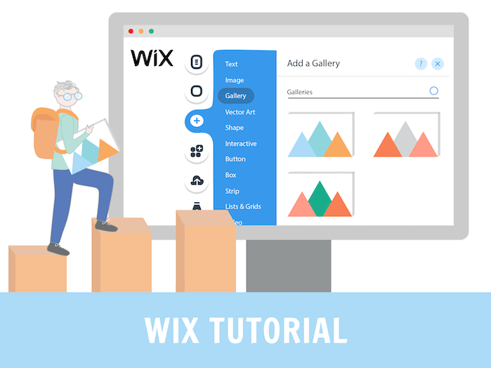 Панель управления на Wix