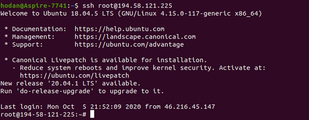 Подключение к серверу без пароля