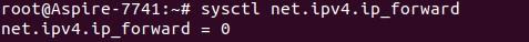 Вывод конкретного параметра sysctl