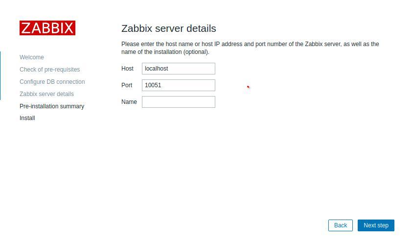 Детали подключения к серверу бд